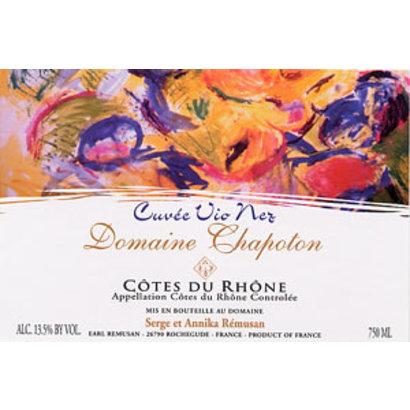 Côtes du Rhône Blanc Domaine Chapoton 2017