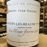 Savigny-les-Beaune 1er cru 'Les Hauts Jarrons' Jean Guiton  2013