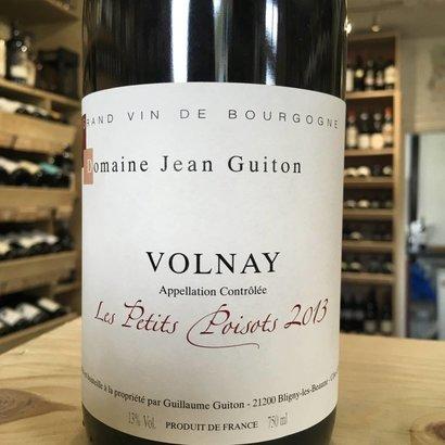 Volnay 'Les Petits Poisots' Jean Guiton 2015