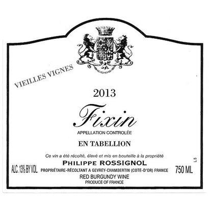 Fixin 'En Tabellion' Philippe Rossignol 2012