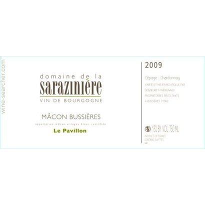 Macon Bussieres Le Pavillon Dom. de la Saraziniere 2018