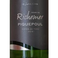 Côtes de Thau Picquepoul de Pinet Richener 2019