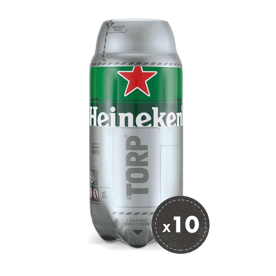 Heineken 10 for 8 Bundle (Best Before 31/01/2019)