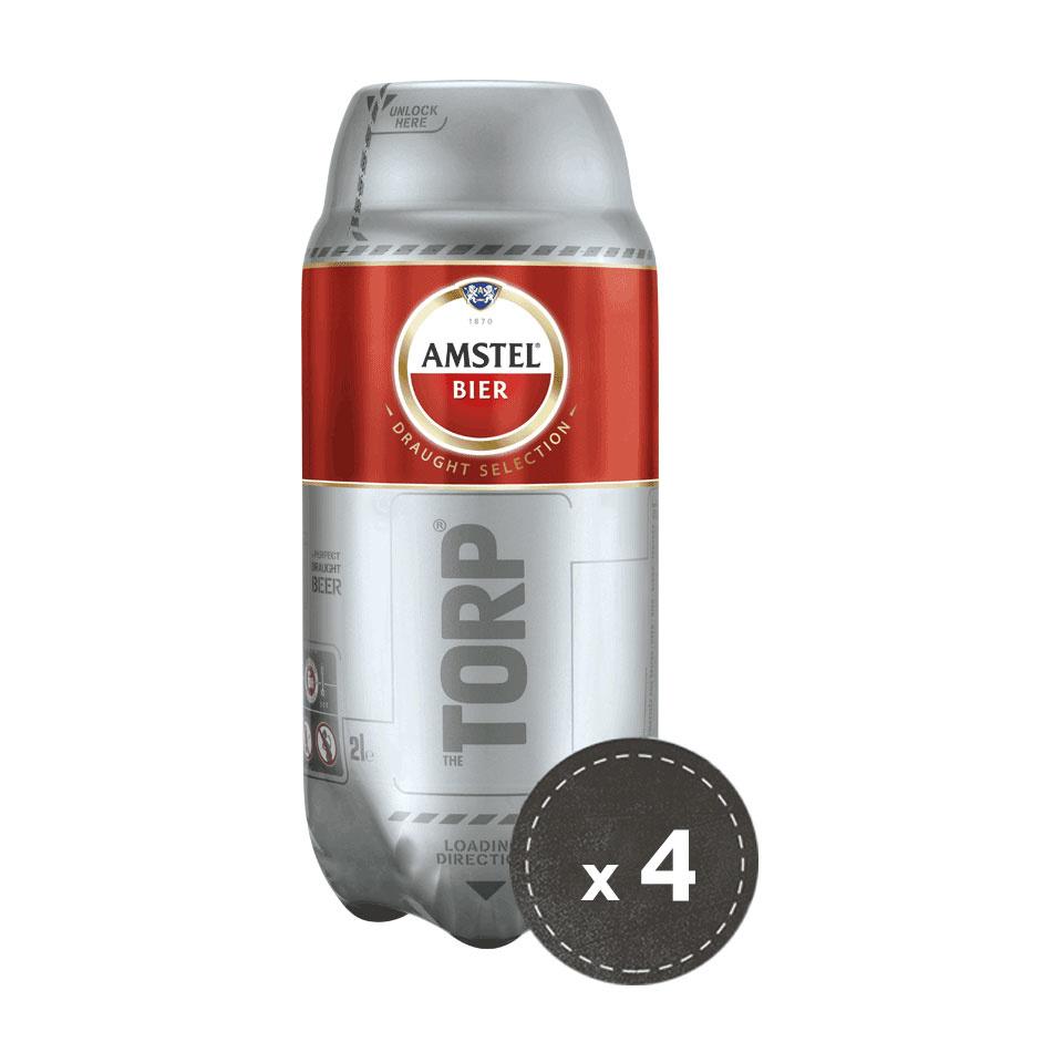 4 per 3 Amstel Bundle