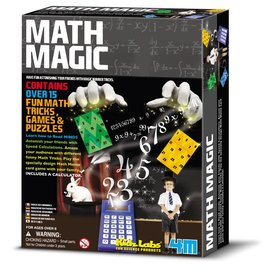 4M KidzLabs Math Magic - Reken Experimenten en Trucks