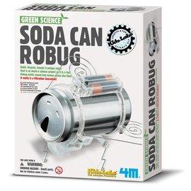 4M KidzLabs Blikjes-Robot insect Bouwpakket