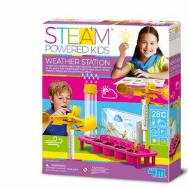 4M KidzLabs meiden steam powered weerstation