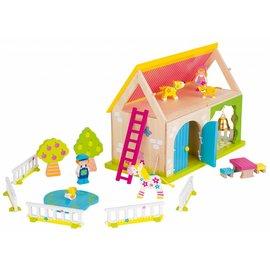 Goki poppenhuis mijn boerderij