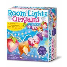 4M KidzLabs Origami licht slinger maken 4M crea