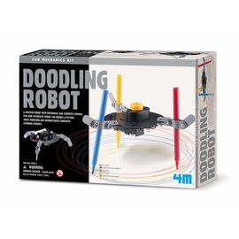 4M KidzLabs doodling robot 4M