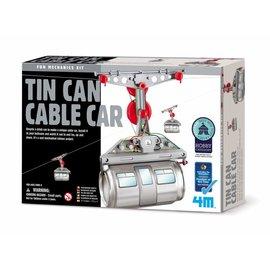 4M 4M fun mechanics kit tin can cable car