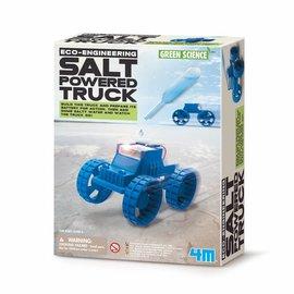 4M KidzLabs 4M green science salt  powered truck