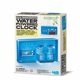 4M KidzLabs 4M green science eco engineering water powered clock  klok