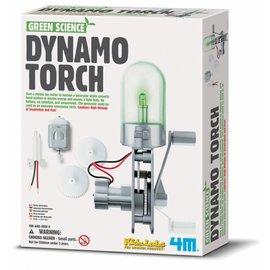 4M 4M green science dynamo torch / lamp