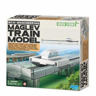 4M 4M green science eco engenieering maglev train model trein