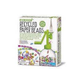 4M 4M Green Creativity papieren kralen maker