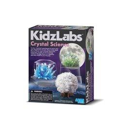 4M KidzLabs 4M Crystal sience Kidzlabz