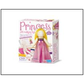 4M 4M crea maak je eigen prinses pop