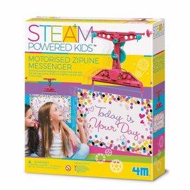 4M 4M Steam powered kids boodschappen zipline