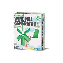 4M 4M Green science steam powered kids windmolen generator