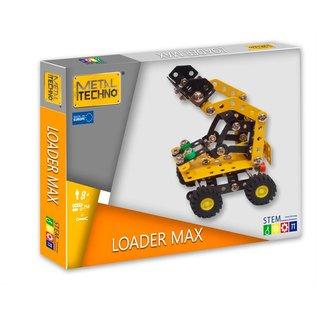 Metal techno Metal techno loader max lader bouwpakket stem speelgoed