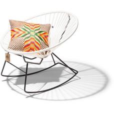 Condesa schommelstoel wit