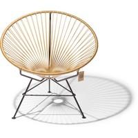 Condesa stoel goudkleur, handgemaakt
