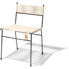 Chaise de salle à manger Polanco en chanvre