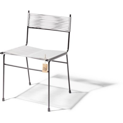 Polanco dining chair, 4 legs, light grey