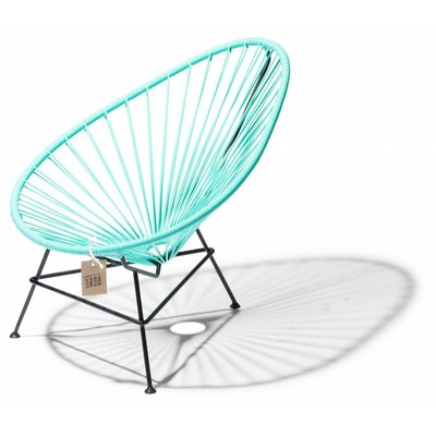 Acapulco kinder/baby stoel licht turquoise
