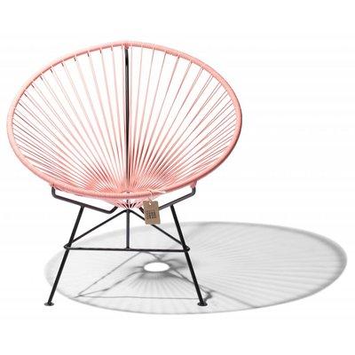 Condesa stoel zalmroze, handgemaakt