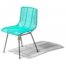 Rosarito chair aqua turquoise