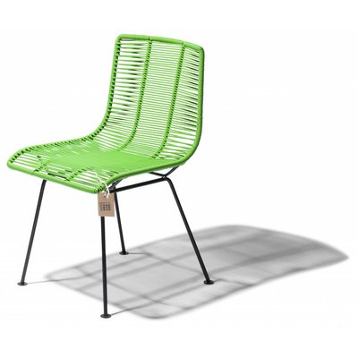 Rosarito dining chair apple green