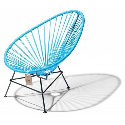 Acapulco kids chair, baby sky blue