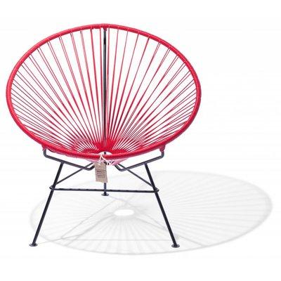 Condesa stoel rood, handgemaakt in Mexico