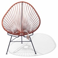 Exclusive leather edition Acapulco chair