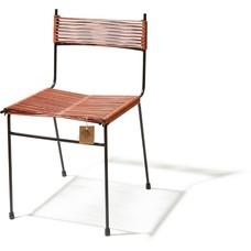 Chaise de salle à manger Polanco cuir