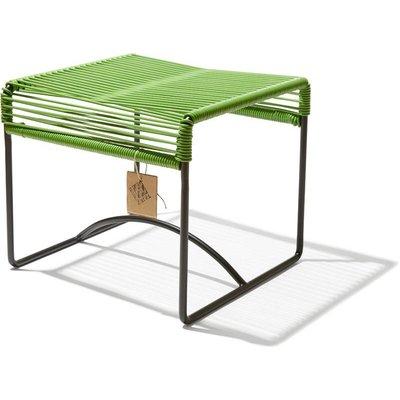 Xalapa Hocker oder Fußablage olivgrün
