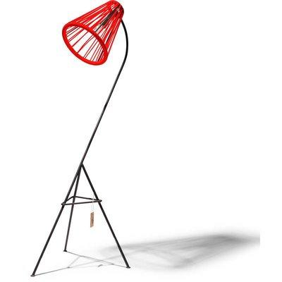 Kahlo vloerlamp rood