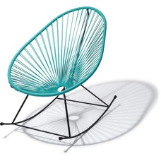 Acapulco rocking chair turquoise