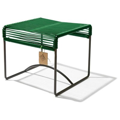 Xalapa bench or footrest dark green
