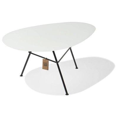 Tisch Zahora Glas - weiß