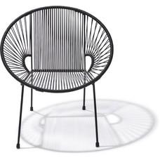 Luna Stuhl schwarz