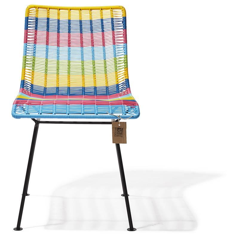Chaise Rosarito Multicolore Le Fauteuil Acapulco Authentique