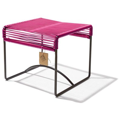 Xalapa bench or footrest fuchsia