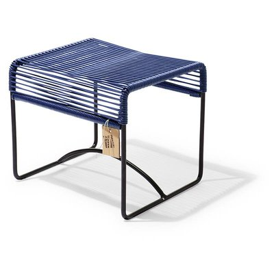 Xalapa bench or footrest cobalt blue
