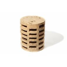 Natural cork stool round