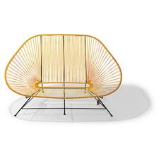 Sofa Acapulco amarillo