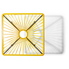 Bistro tafel Tulum geel
