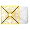 Mesa bistro Tulum amarillo